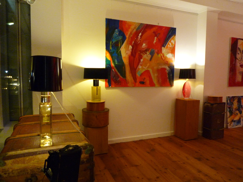 Designed by tommy hilbert unikat einzelstück lampen licht