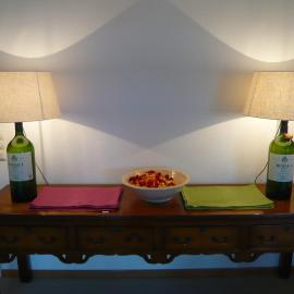 Unikate, Einzelstücke, Lampen, Licht, Beleuchtung, Nachhaltigkeit, funktionale Kunst, Schmuckstück, Sammelstücke, Interieur Design, Lichtkunst, Manufaktur, liebevolle Handarbeit, Rottach-Egern, Tegernsee, Wein, Rioja